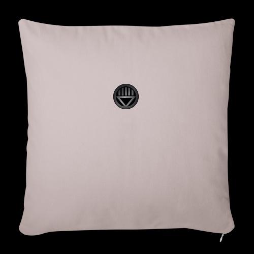 "Knight654 Logo - Throw Pillow Cover 18"" x 18"""