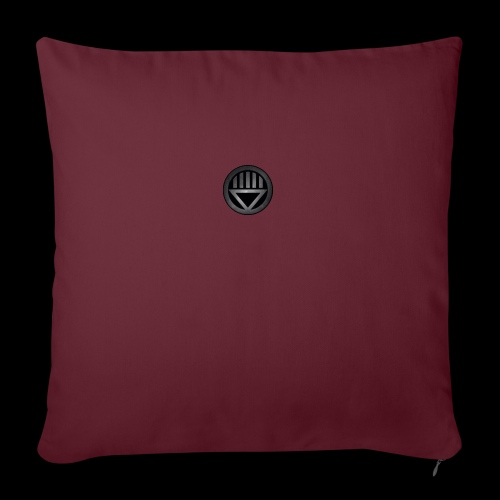 "Knight654 Logo - Throw Pillow Cover 18"" x 18"""