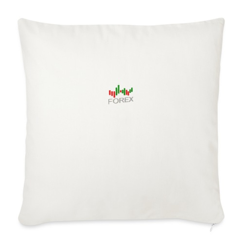 """Forex - Throw Pillow Cover 18"""" x 18"""""""