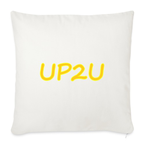 "UP2U - Throw Pillow Cover 17.5"" x 17.5"""