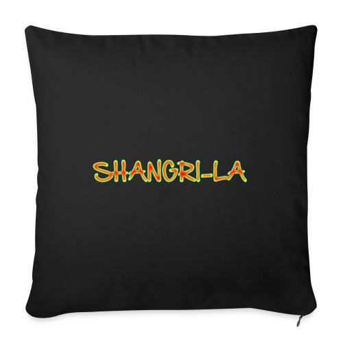 "Shangri-La - Throw Pillow Cover 18"" x 18"""