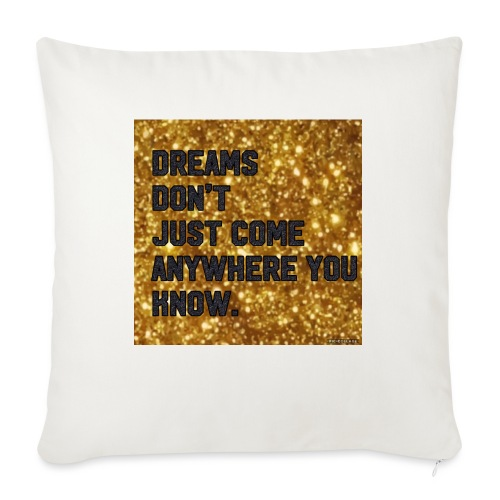 "dreamy designs - Throw Pillow Cover 18"" x 18"""