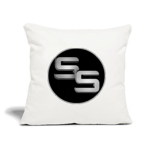 "SS Logo - Throw Pillow Cover 17.5"" x 17.5"""