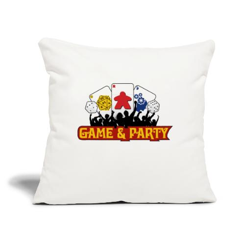 "Logo - Throw Pillow Cover 18"" x 18"""