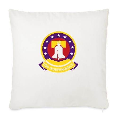 "cv62 independence - Throw Pillow Cover 18"" x 18"""