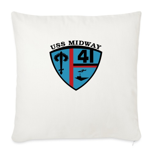 """ussmidway - Throw Pillow Cover 18"""" x 18"""""""