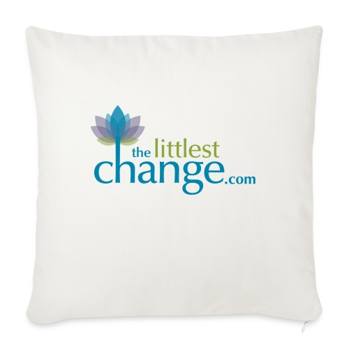 "Anything is Possible - Throw Pillow Cover 18"" x 18"""