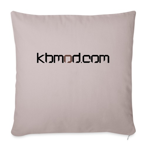 "kbmoddotcom - Throw Pillow Cover 18"" x 18"""