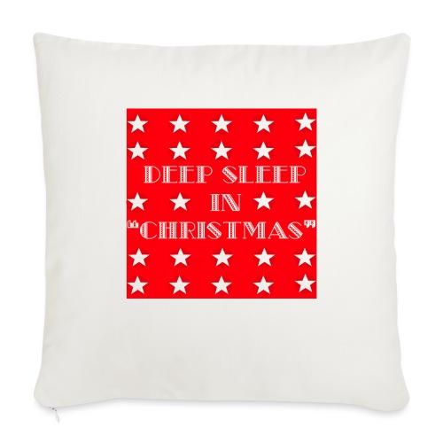 "Christmas theme - Throw Pillow Cover 18"" x 18"""