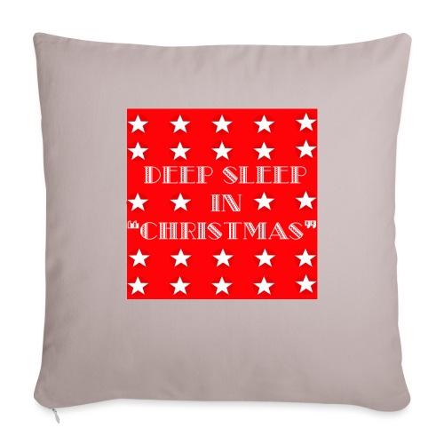 "Christmas theme - Throw Pillow Cover 17.5"" x 17.5"""