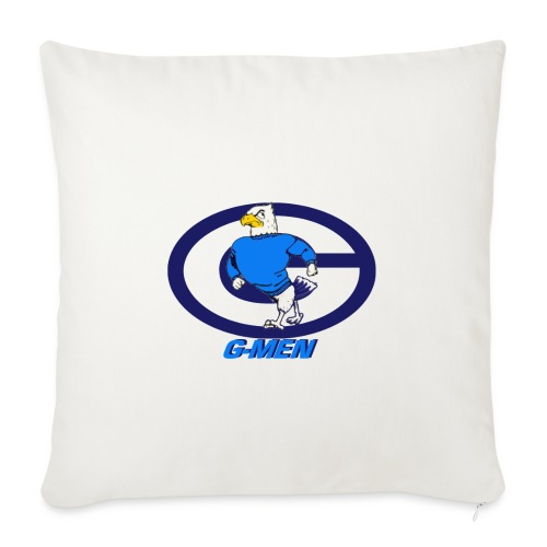 "GHOSTB - Throw Pillow Cover 17.5"" x 17.5"""