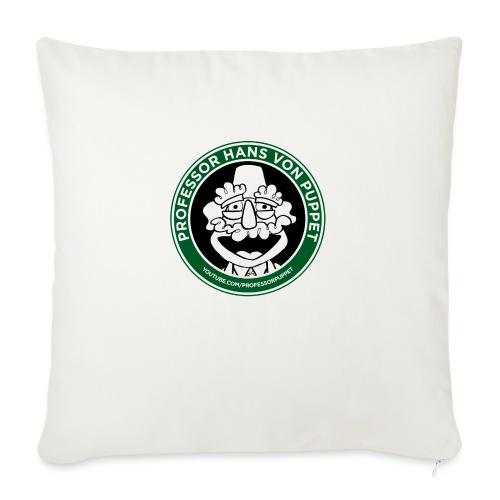 "Professor Puppet Travel Mug - Throw Pillow Cover 17.5"" x 17.5"""