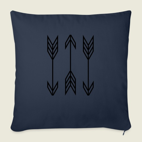 "arrow symbols - Throw Pillow Cover 18"" x 18"""