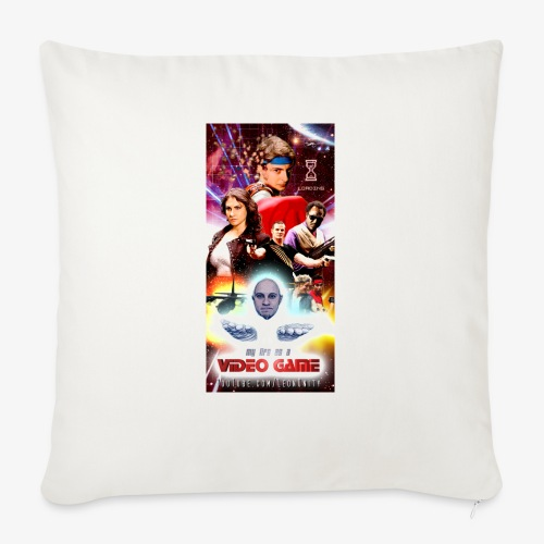 "Phone Case Test png - Throw Pillow Cover 17.5"" x 17.5"""