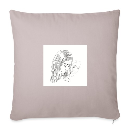 center of my mind - Throw Pillow Cover