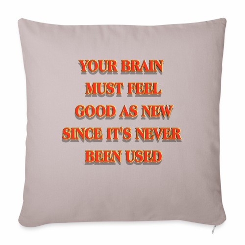 """Good as New - Throw Pillow Cover 17.5"""" x 17.5"""""""
