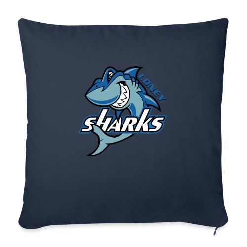 """Loney FINAL - Throw Pillow Cover 18"""" x 18"""""""