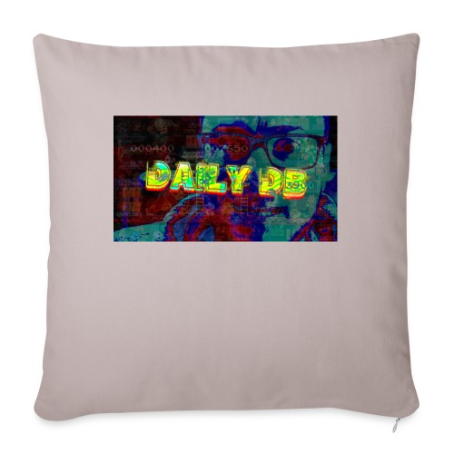"""The DailyDB - Throw Pillow Cover 17.5"""" x 17.5"""""""