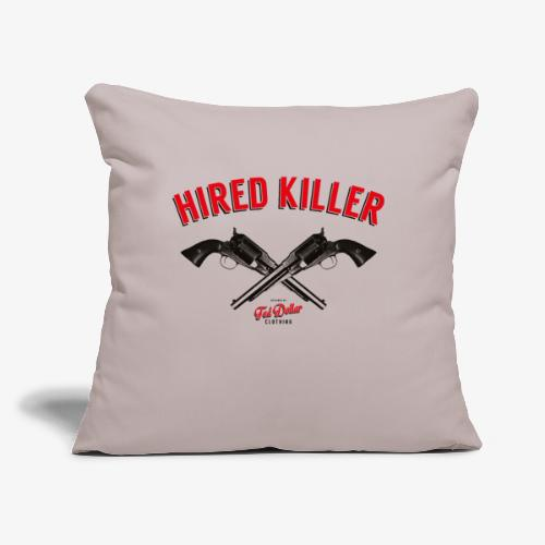 """Hired Killer - Throw Pillow Cover 18"""" x 18"""""""