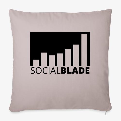 """SB Blackout Logo - Throw Pillow Cover 17.5"""" x 17.5"""""""