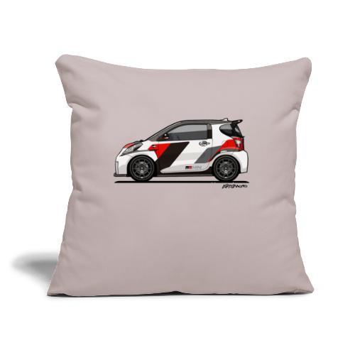 "Toyota Scion GRMN iQ Concept - Throw Pillow Cover 17.5"" x 17.5"""