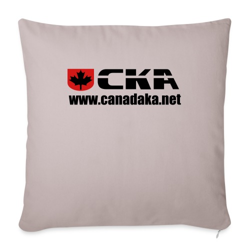 """CKA Back 3 - Throw Pillow Cover 17.5"""" x 17.5"""""""
