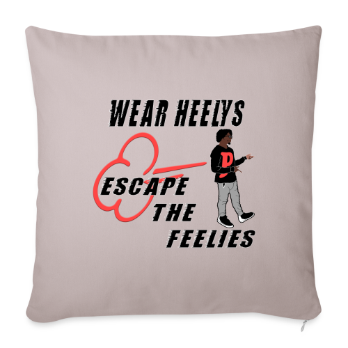 HEELYS FOR YA FEELIES - Throw Pillow Cover