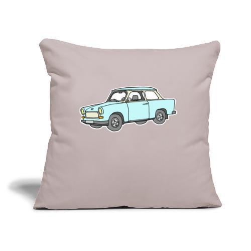"Trabant (lightblue) - Throw Pillow Cover 17.5"" x 17.5"""