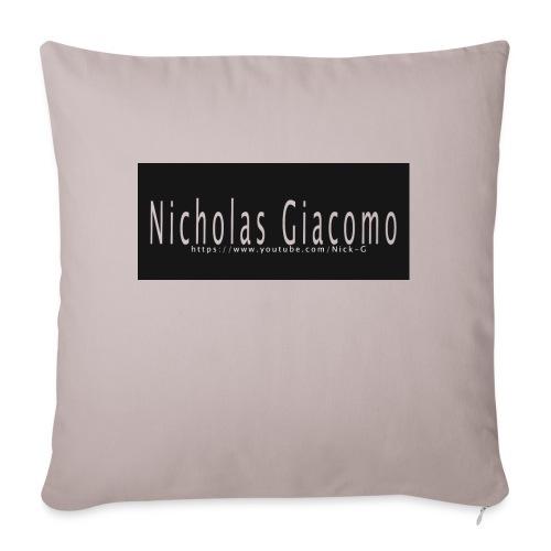 """Nick_logo_shirt - Throw Pillow Cover 17.5"""" x 17.5"""""""
