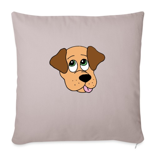 "Puppy Love - Throw Pillow Cover 18"" x 18"""