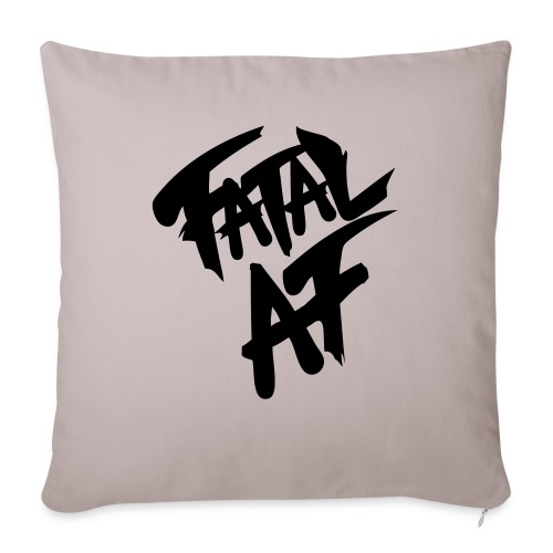 """fatalaf - Throw Pillow Cover 17.5"""" x 17.5"""""""