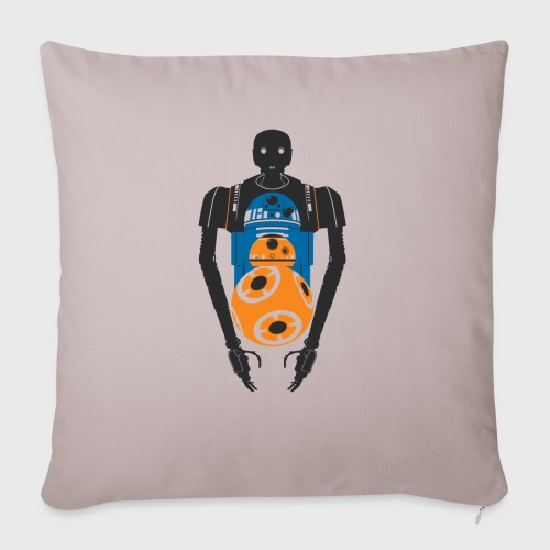 """Star Wars Rogue One The Droids You're Looking For - Throw Pillow Cover 17.5"""" x 17.5"""""""