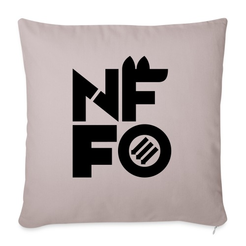 """NFFO - Throw Pillow Cover 17.5"""" x 17.5"""""""
