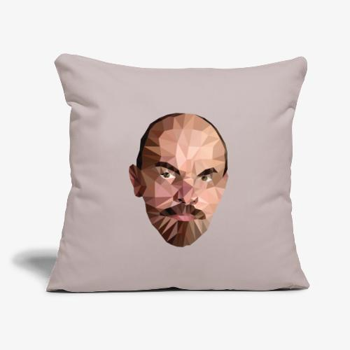 "Vladimir Ulyanov - Throw Pillow Cover 17.5"" x 17.5"""