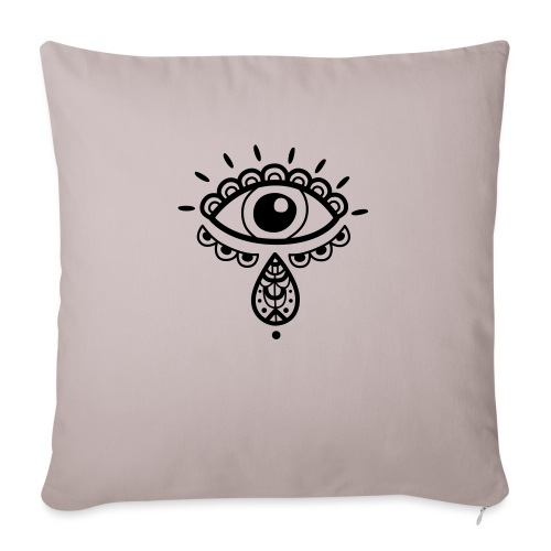 """Cosmos 'Teardrop' - Throw Pillow Cover 17.5"""" x 17.5"""""""