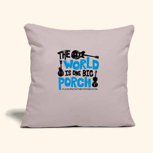 "BIG_PORCH - Throw Pillow Cover 17.5"" x 17.5"""
