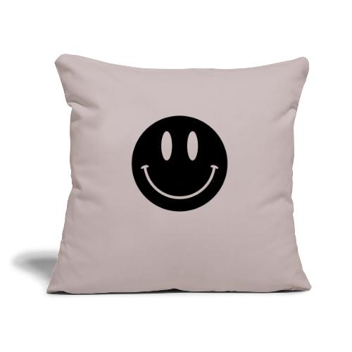 "Smiley - Throw Pillow Cover 17.5"" x 17.5"""