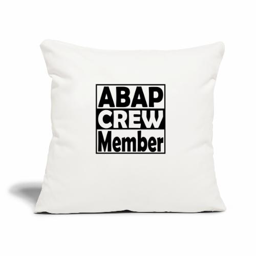 "ABAPcrew - Throw Pillow Cover 17.5"" x 17.5"""