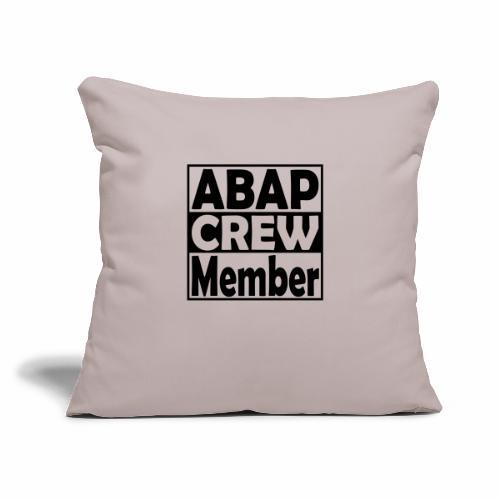 "ABAPcrew - Throw Pillow Cover 18"" x 18"""