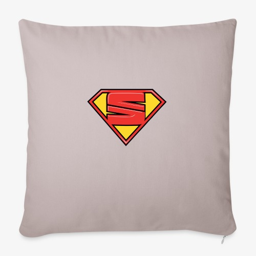 """super seat - Throw Pillow Cover 17.5"""" x 17.5"""""""