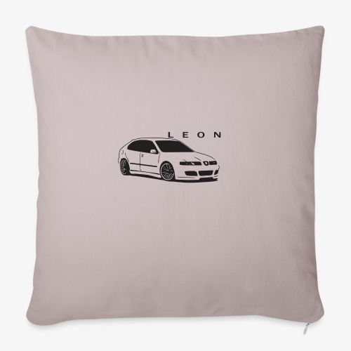 "Seat LEON mk1 cupra - Throw Pillow Cover 17.5"" x 17.5"""