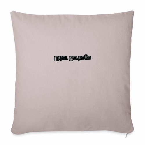 "Utter Garbage - Throw Pillow Cover 17.5"" x 17.5"""