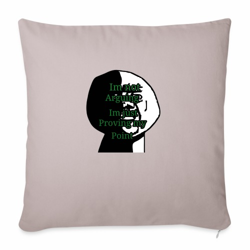 "Im right - Throw Pillow Cover 17.5"" x 17.5"""