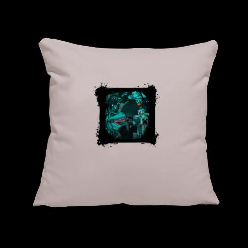"xB - War Of The Games - Throw Pillow Cover 17.5"" x 17.5"""