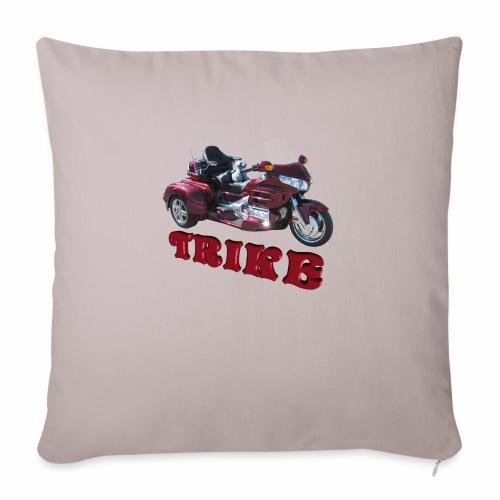 "Trike - Throw Pillow Cover 17.5"" x 17.5"""