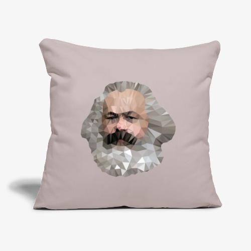 "Marx - Throw Pillow Cover 17.5"" x 17.5"""