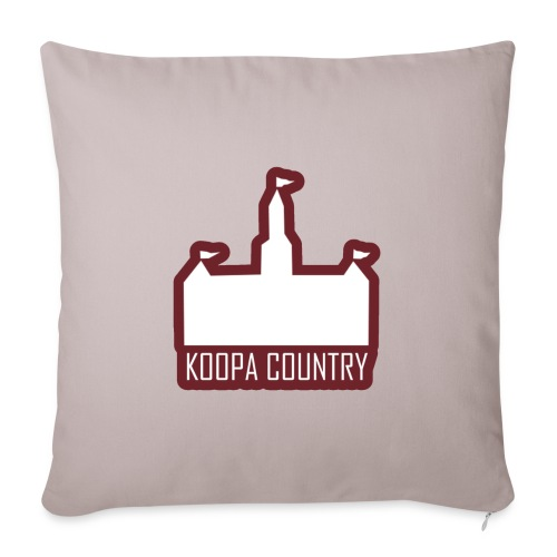 """Koopa Country - Throw Pillow Cover 18"""" x 18"""""""