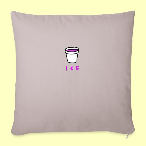 "ICE - Throw Pillow Cover 17.5"" x 17.5"""
