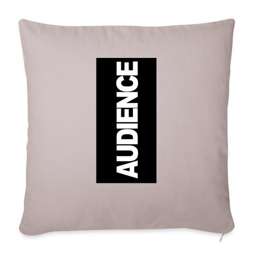 "audenceblack5 - Throw Pillow Cover 17.5"" x 17.5"""