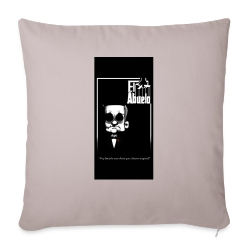 "case5iphone5 - Throw Pillow Cover 17.5"" x 17.5"""